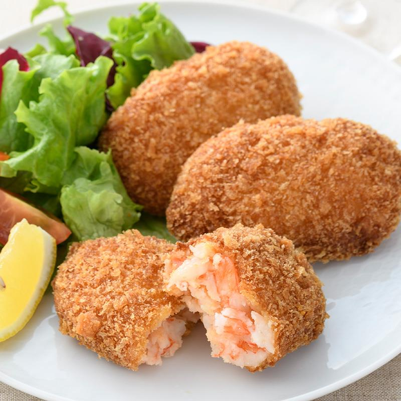 おうちで揚げない海老カツレツ オリジナル味/ガーリック味 2種10個