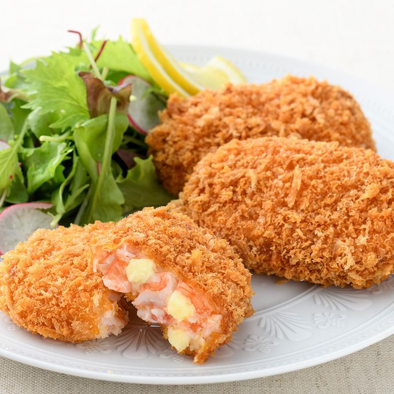 おうちで揚げる海老カツレツ オリジナル味/チーズ味 2種10個