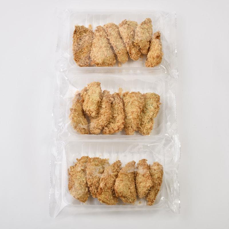 おうちで揚げないアジフライ(6枚)×3
