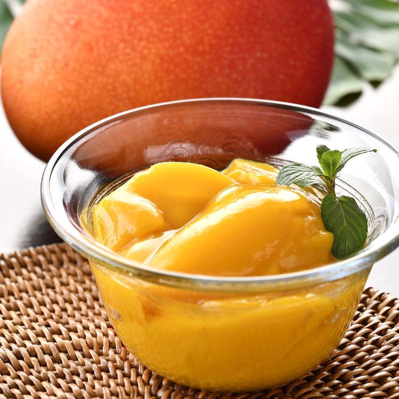 限りなくマンゴーに近いマンゴープリン&トロピカルプリン 各4個