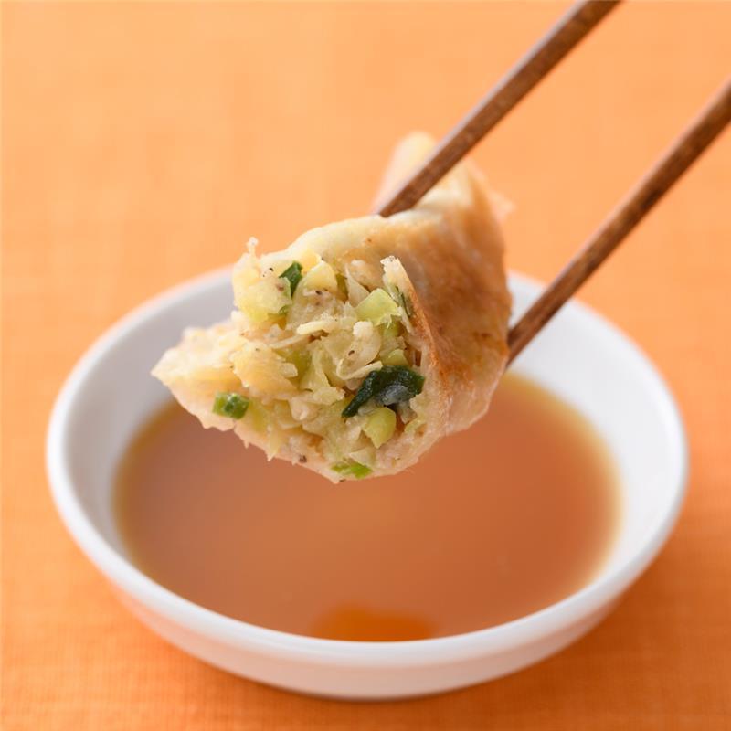 信念フーズの手づくり餃子 肉/野菜 12個入り6パック