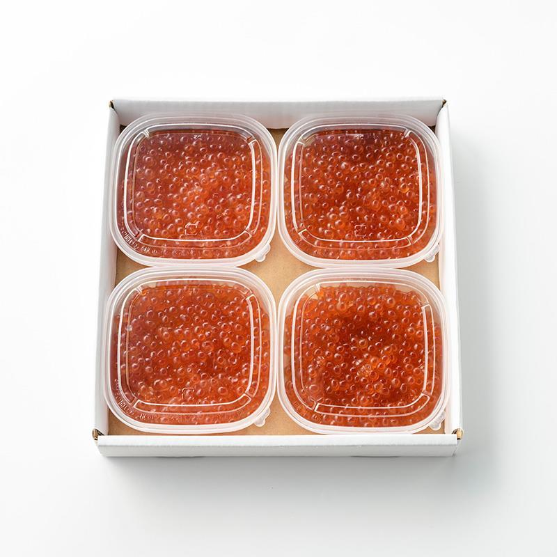 マルシェ限定 北海道産いくら醤油漬 4パック
