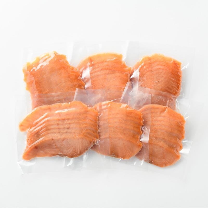 秋鮭のスモークサーモン 6袋