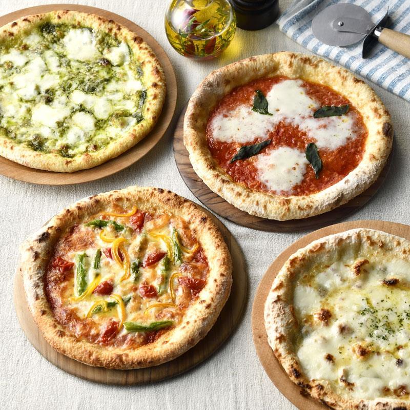 南風堂のナポリピザ 4種