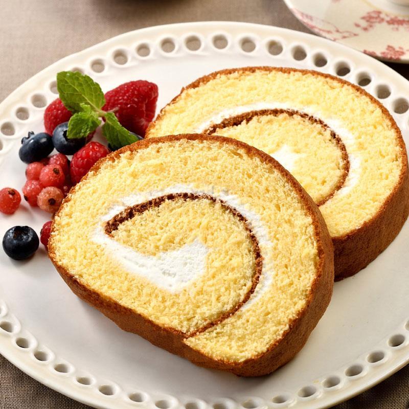 ふかふかロールケーキ