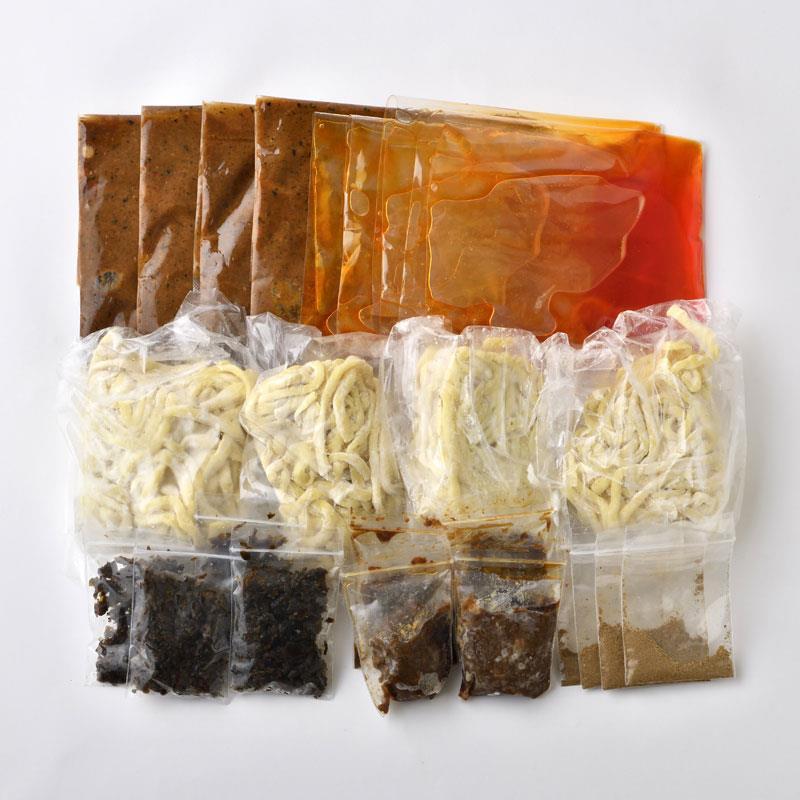 マルシェ限定 「ラーメン凪」の担々麺 汁なし4食