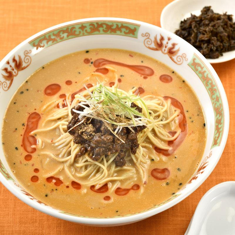 マルシェ限定 「ラーメン凪」の担々麺 汁あり4食