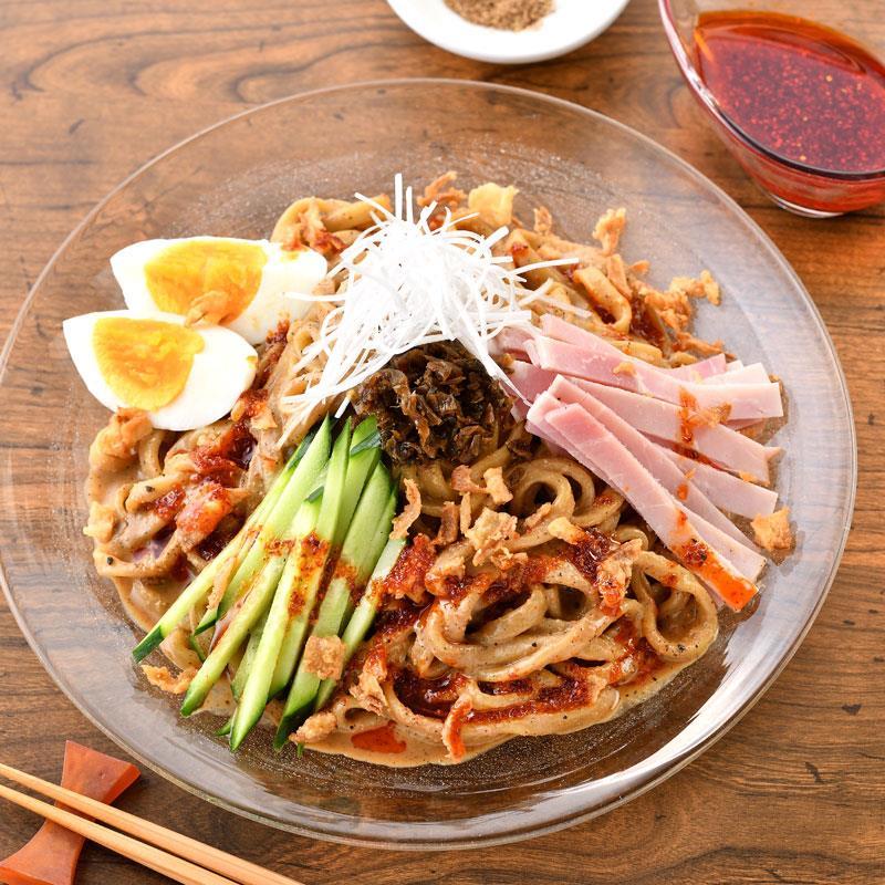 マルシェ限定「ラーメン凪」の冷やし担々麺 4食