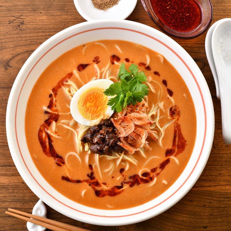 マルシェ限定 「ラーメン凪」の海老担々麺 4食