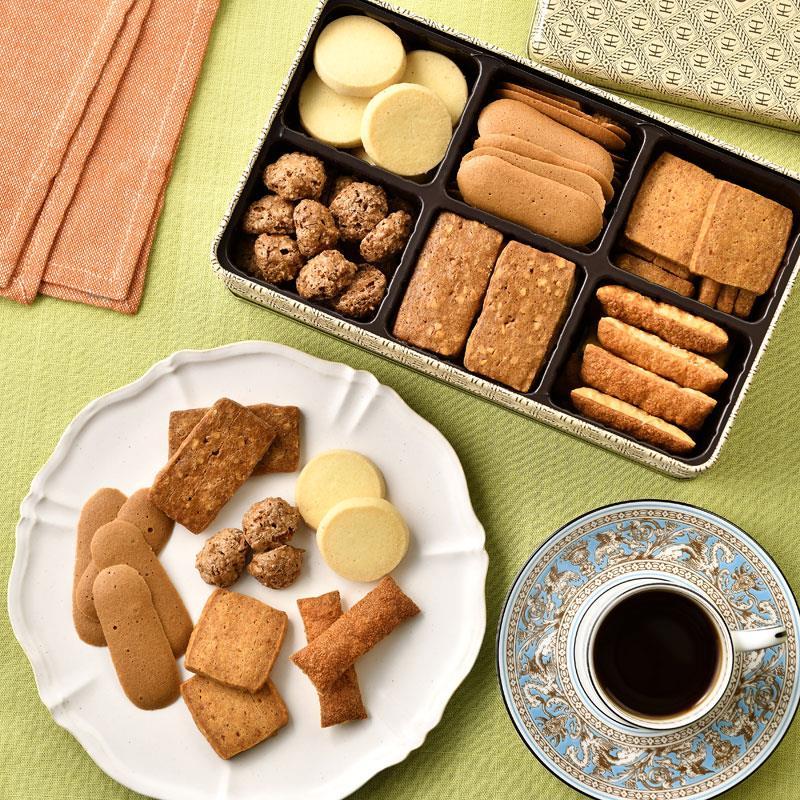 パティスリー ラ・マーレ・ド・チャヤのクッキー詰め合わせ M