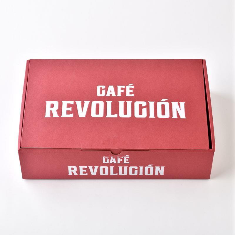 ミカフェート「CAFE REVOLUCION 」5本セット(粉)専用ドリップフィルター付き