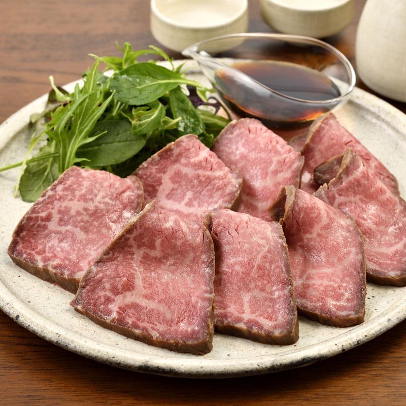 浅草「ちんや」のローストビーフ(もも肉) 300g