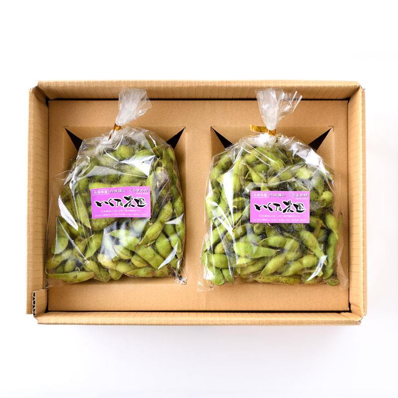 生田さんの丹波黒豆の枝豆 1kg