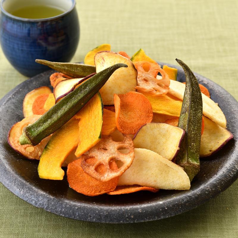 マルシェ限定 野菜そのまま野菜チップス 3袋